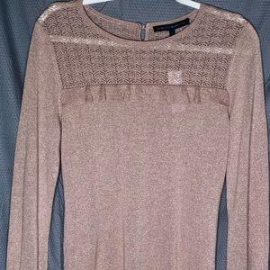 White House Black Market: Mini Ruffle Sweater